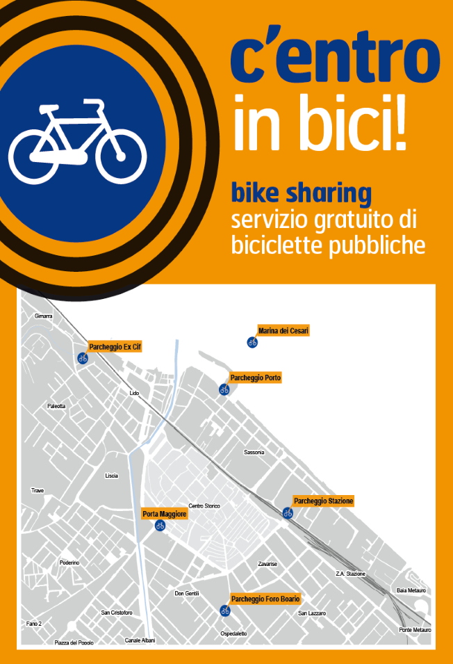 Mappa e Info Bike Sharing